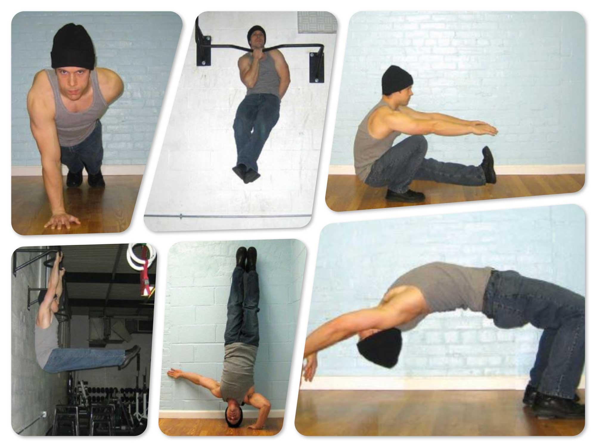 базовая шестёрка упражнений