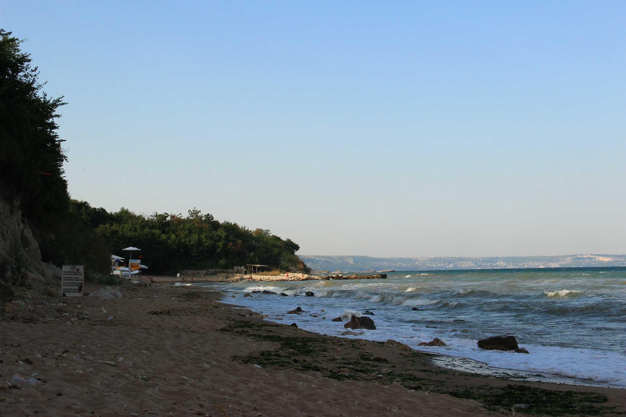 прогулка вдоль пляжа за зп