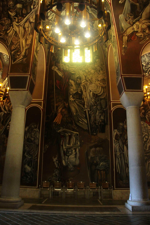 внутри башни царевец