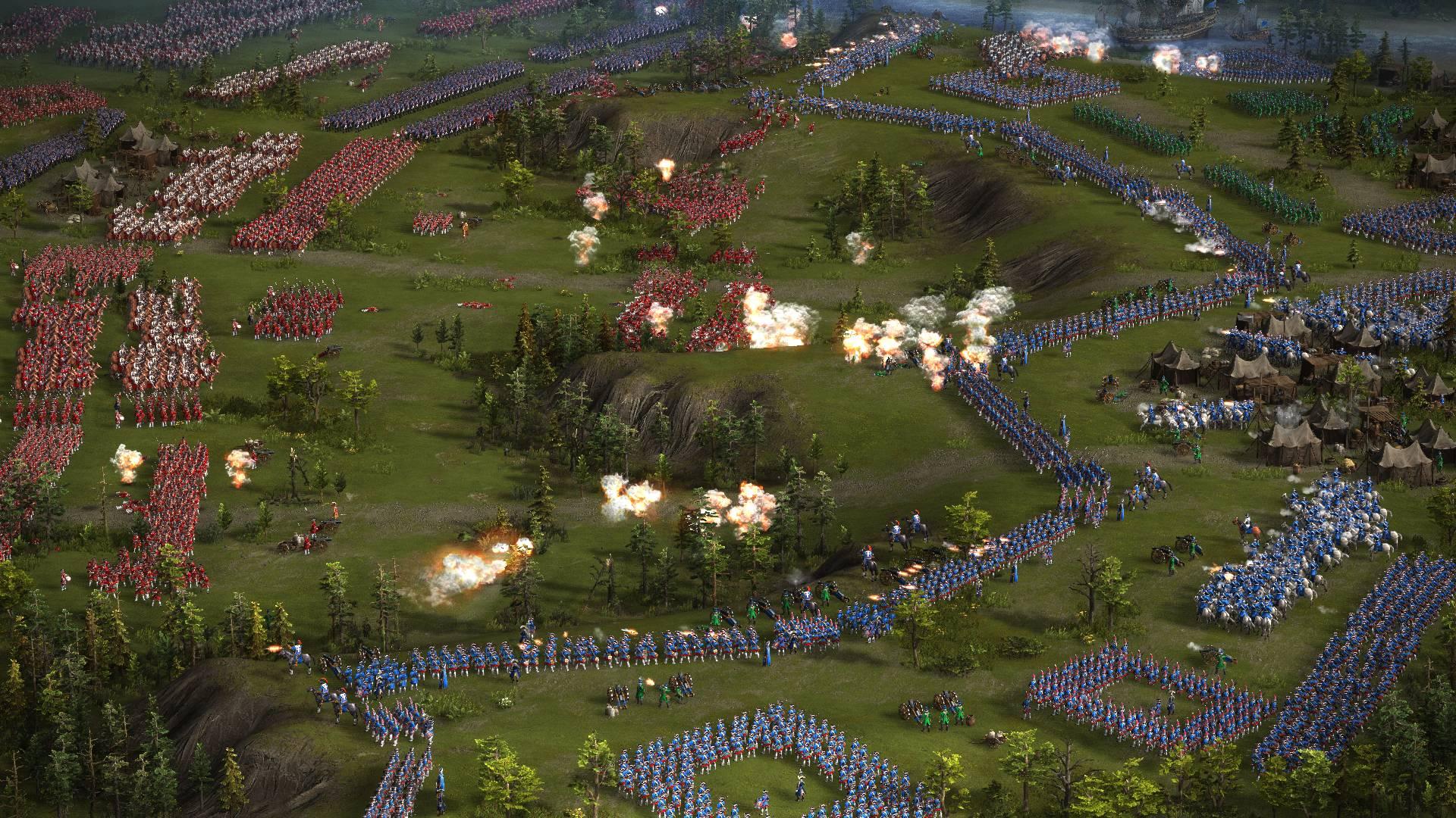 казаки 3 грандиозный эпичный масштаб сражений