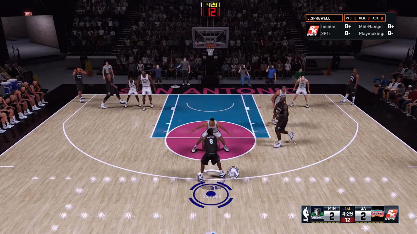 nba 2k17 игровые скриншоты на корте