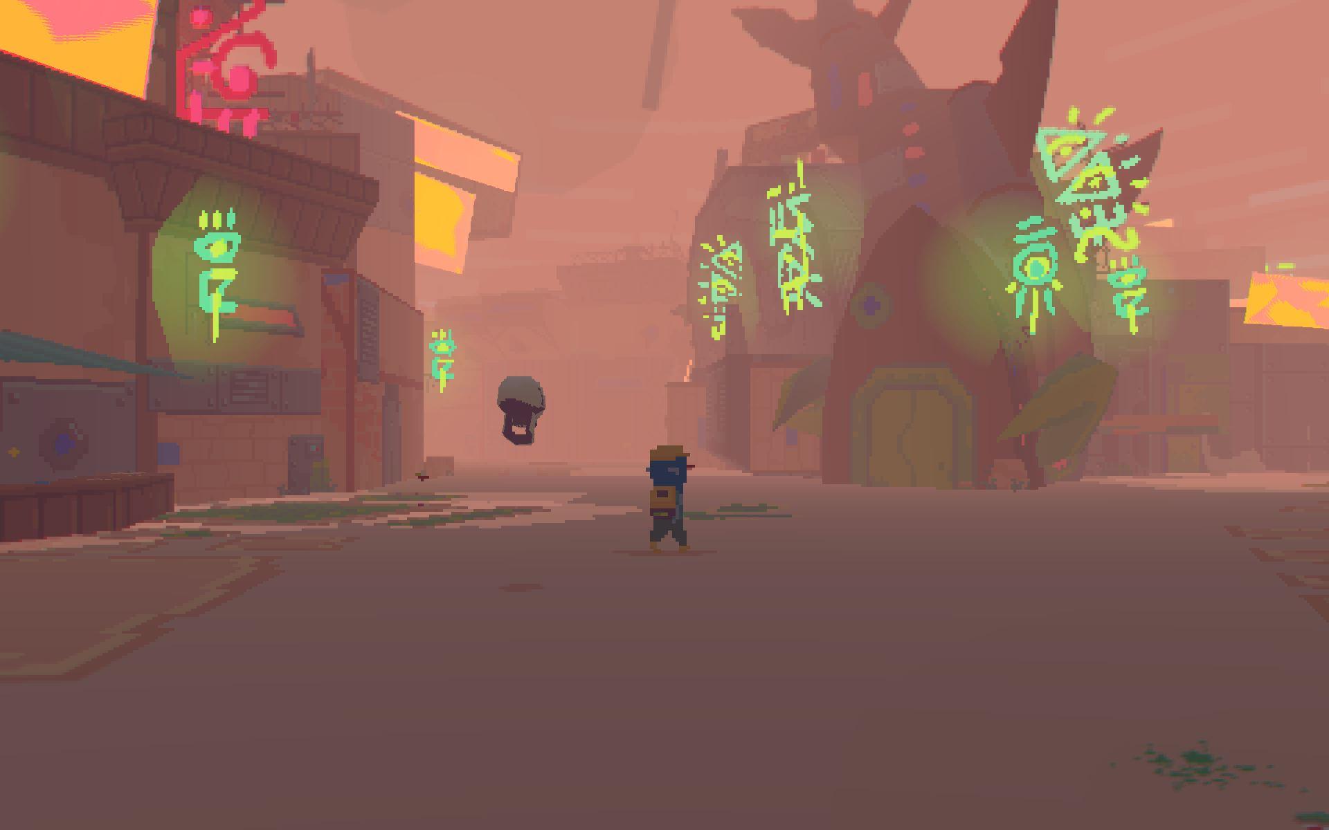 так выглядит город в игре