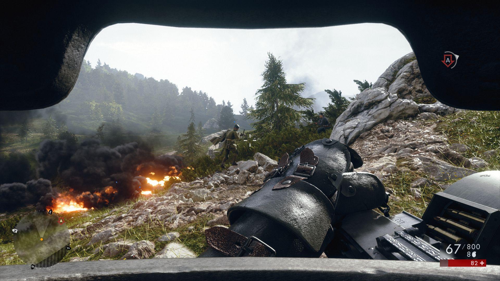 battlefield 1 излишне фантастичная броня