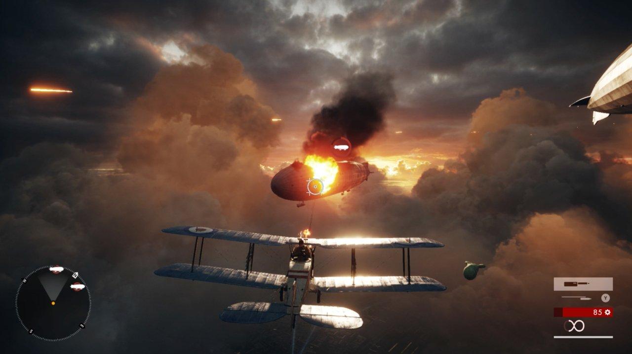 battlefield 1 летаем на самолёте