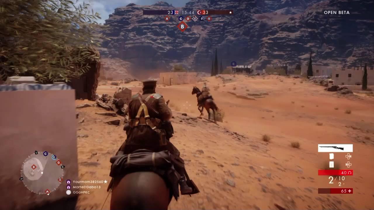 battlefield 1 миссии на лошади