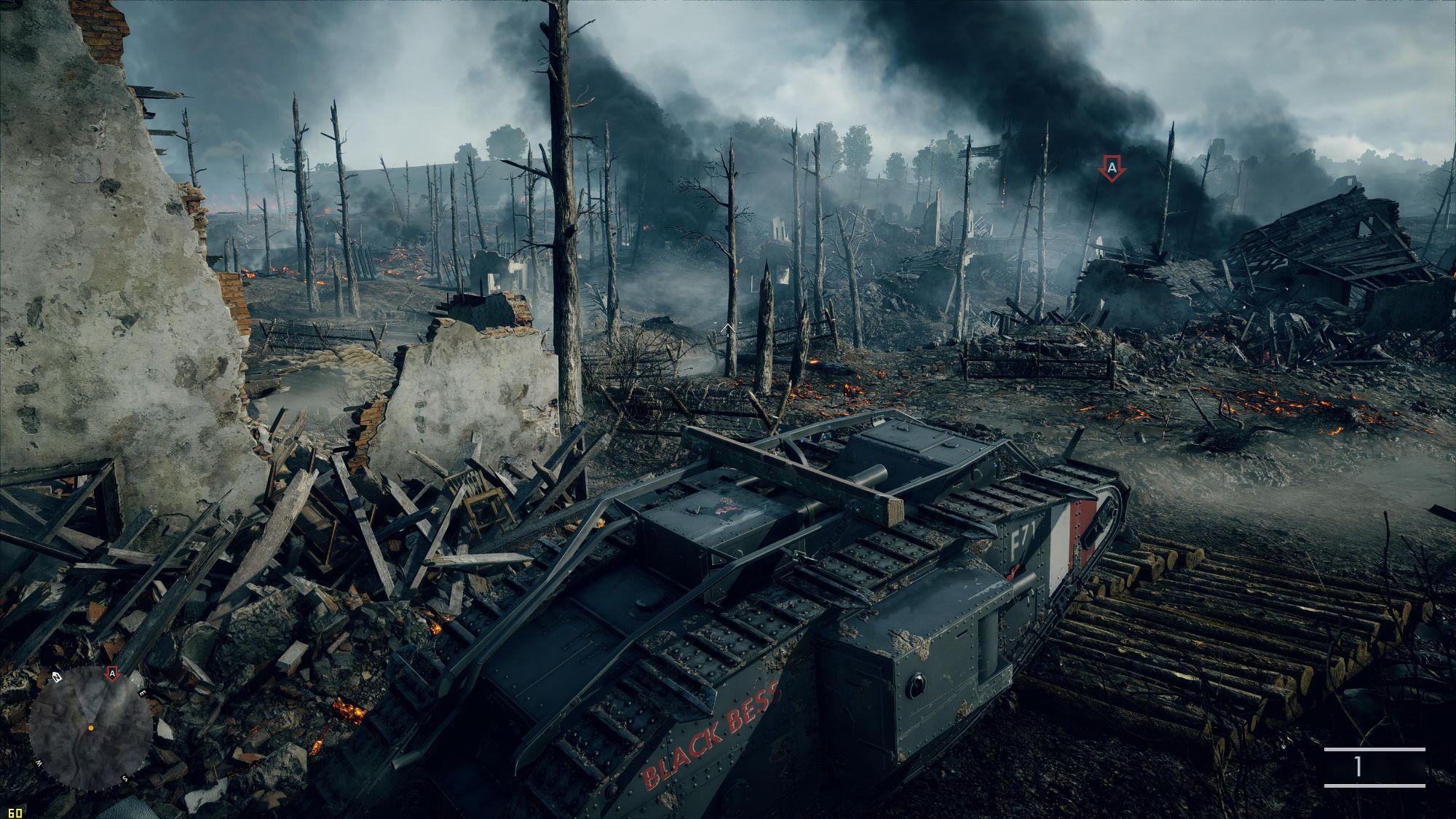 battlefield 1 танк времён первой мировой