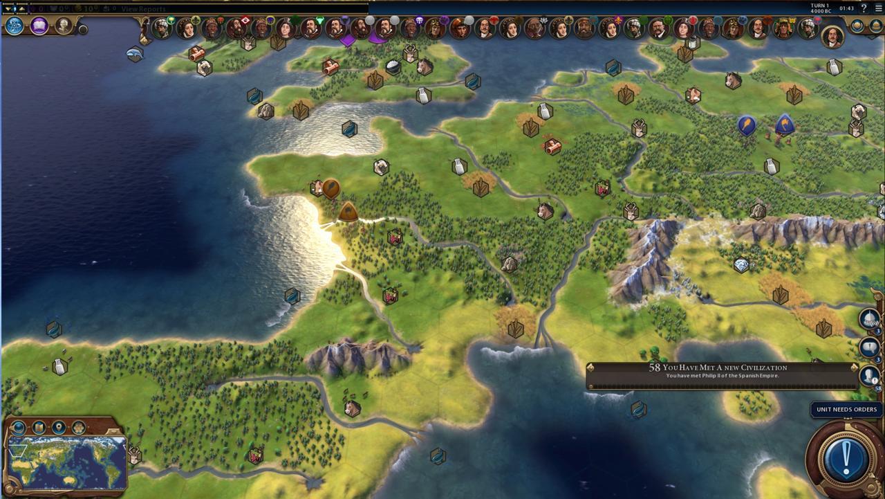 civilization 6 невероятные масштабы