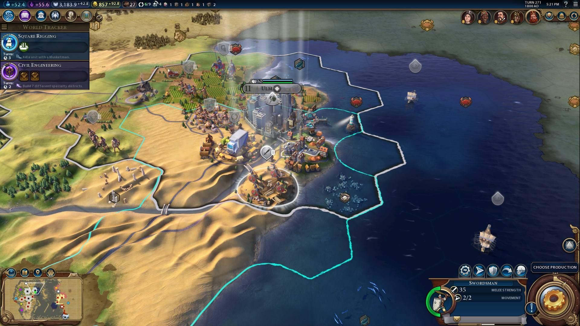 civilization 6 в центре событий