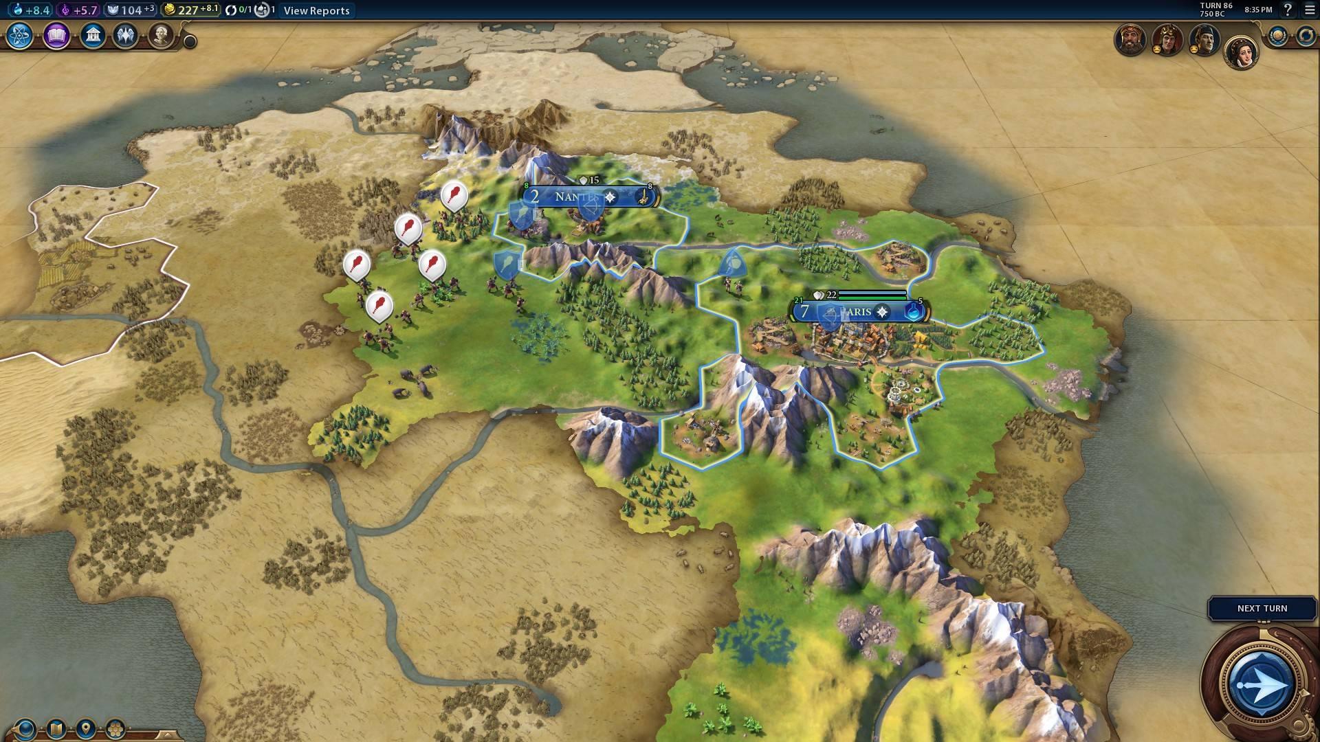 civilization 6 в самом начале