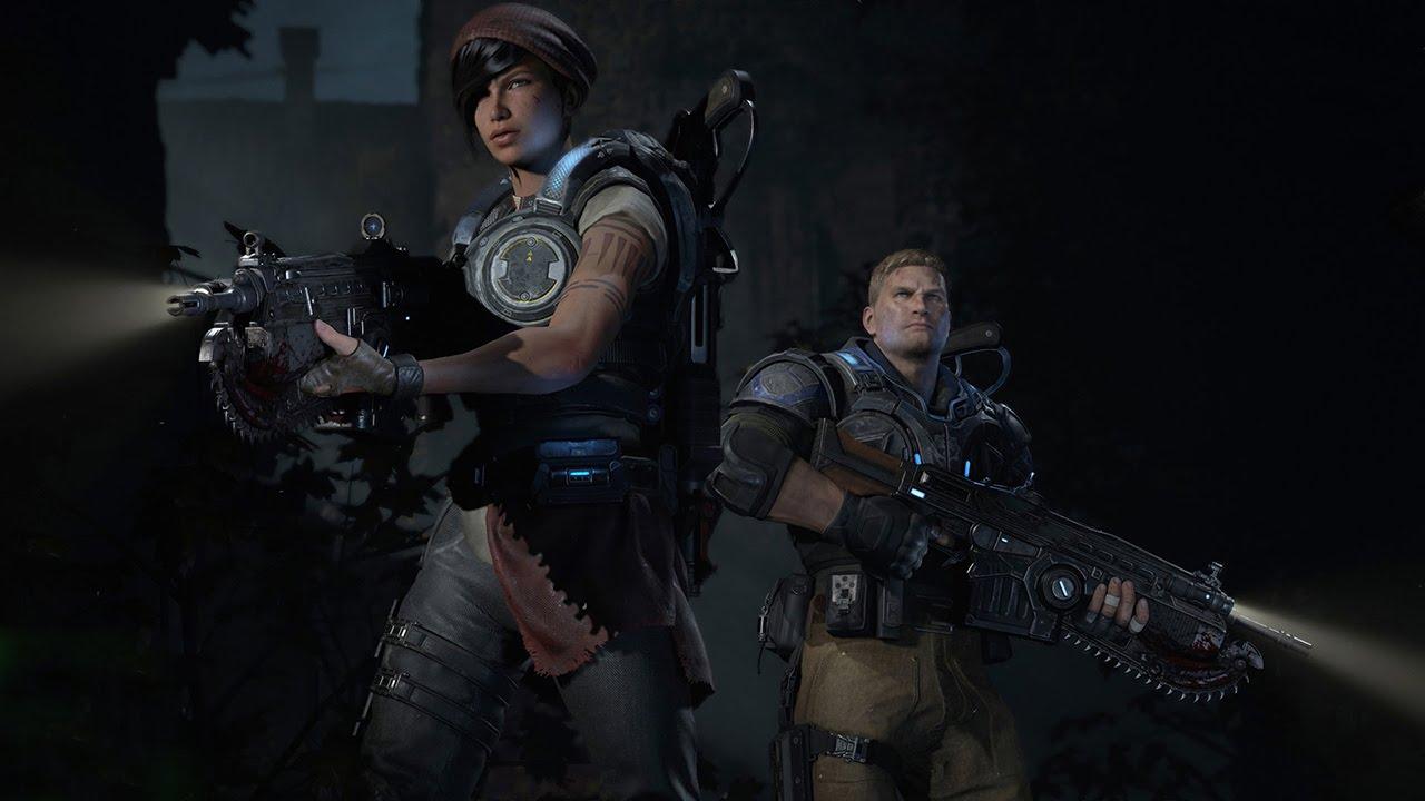 gears of war 4 промежуточные сюжетные отрывки