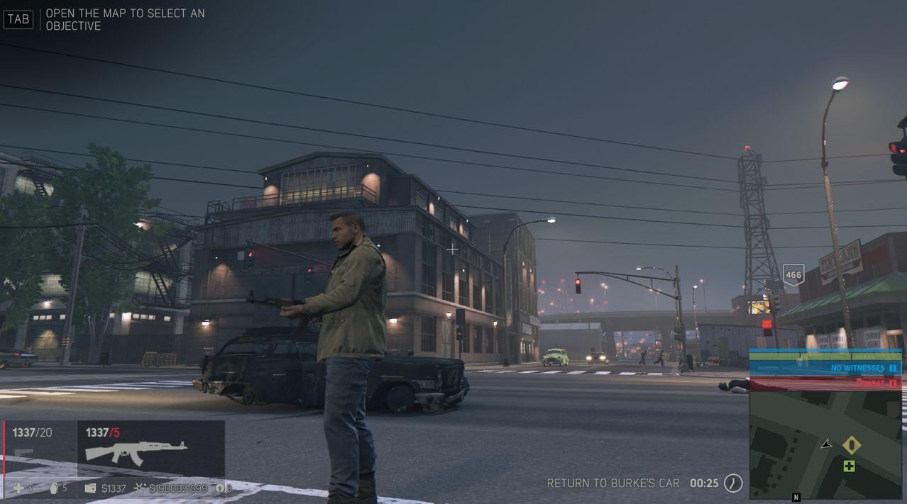 mafia 3 вид игрового экрана