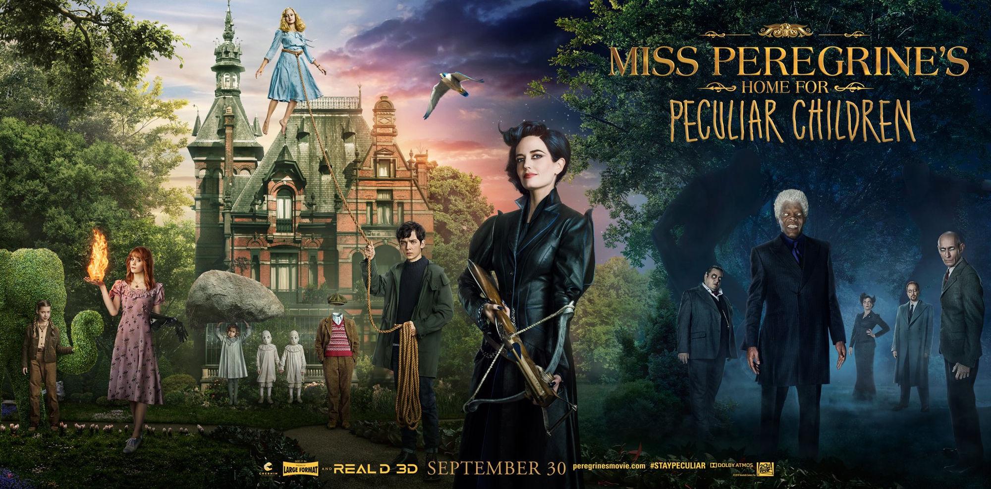обзор фильма дом странных детей мисс перегрин