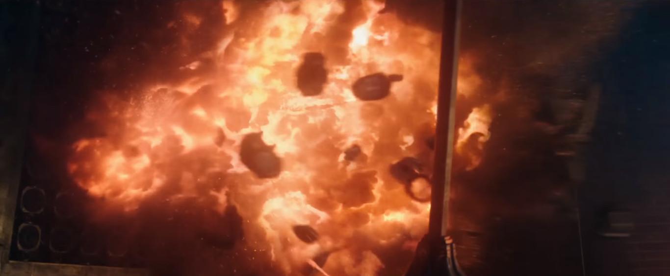 эпик экшен с типичными голливудскими взрывами