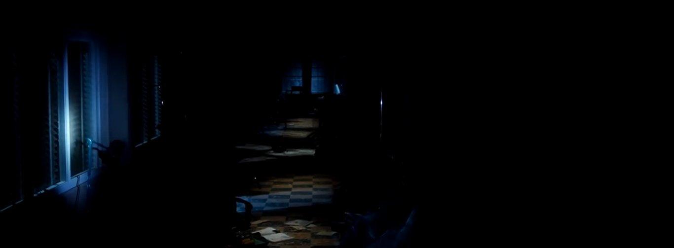 зловещие и мрачные коридоры больницы