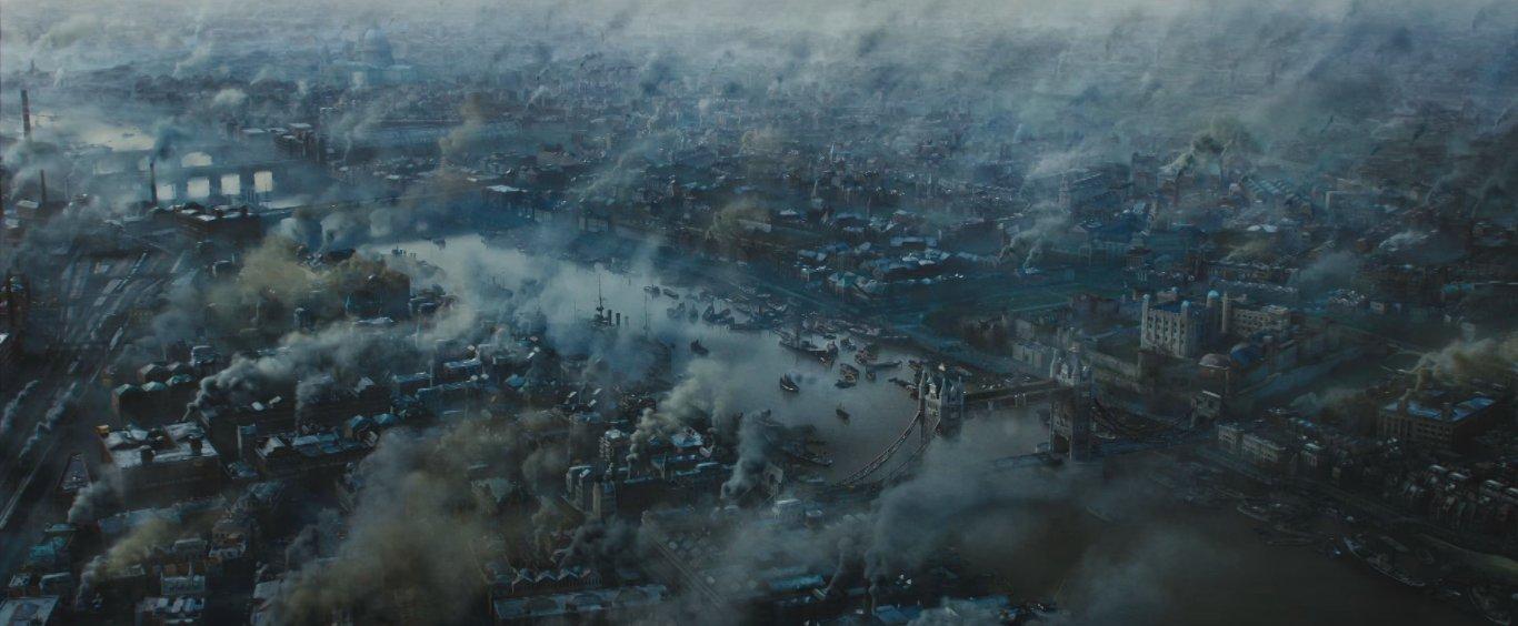 серый но атмосферный лондон времён первой мировой