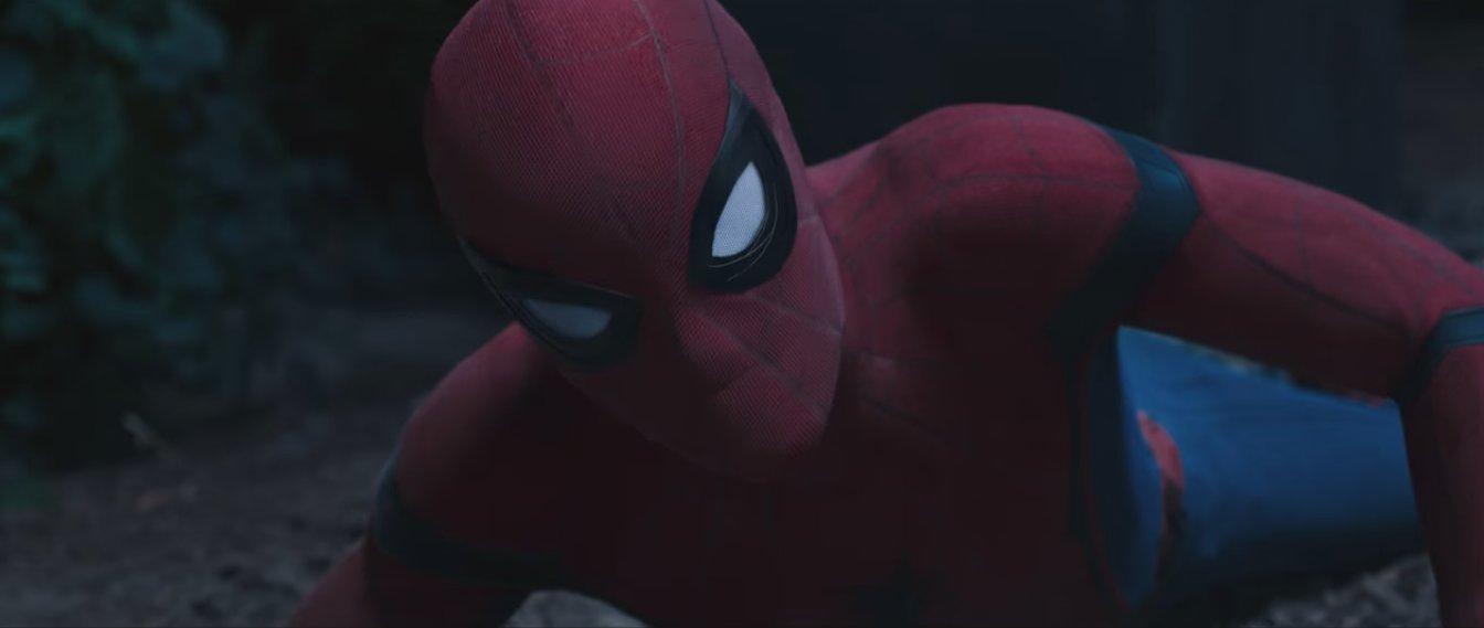 человек паук возвращение домой сцены