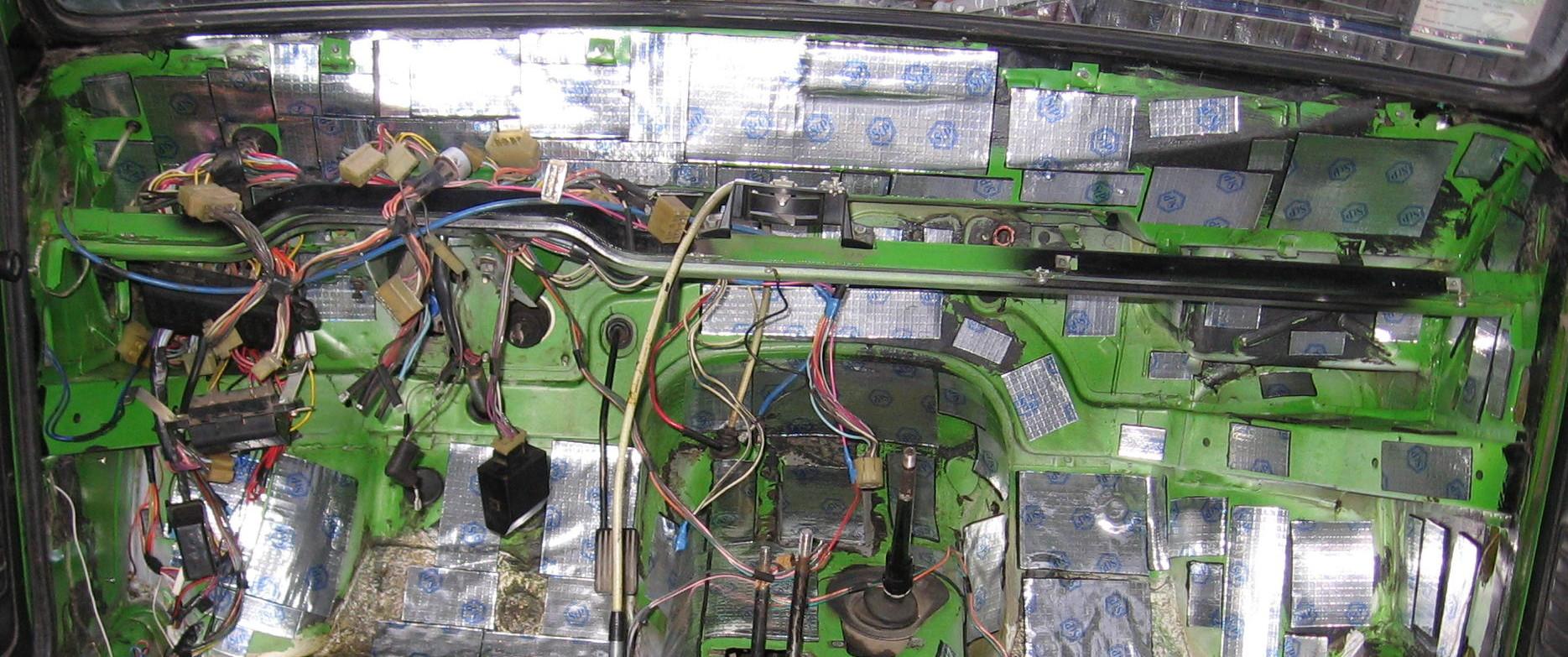 шумоизоляция и виброизоляция автомобиля-21