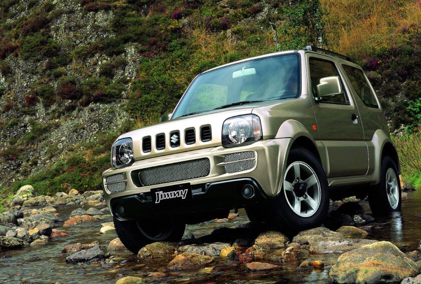 Suzuki Jimny на замену Нивы-04